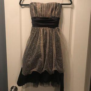 Dresses & Skirts - Glitter back bow dress